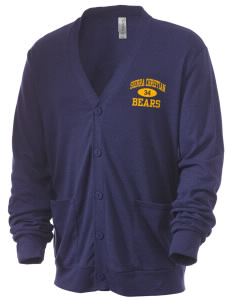 Sierra Christian Academy Bears Men's 5.6 oz Triblend Cardigan