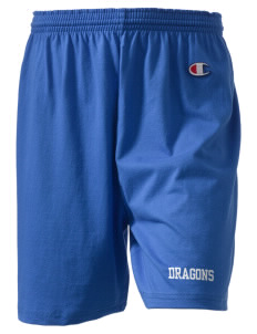 "Fallsburg Elementary School Dragons  Champion Women's Gym Shorts, 6"" Inseam"