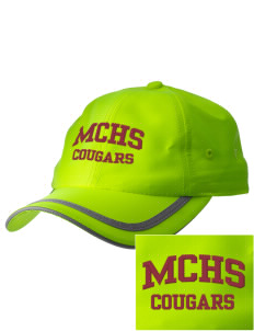 McLean County High School Cougars  Embroidered Safety Cap