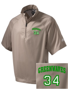 Meade County High School Greenwaves Embroidered adidas Men's ClimaProof Wind Shirt