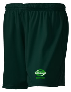 "Meade County High School Greenwaves Embroidered Holloway Women's Performance Shorts, 5"" Inseam"