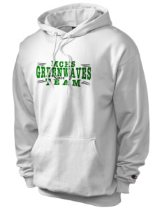 Meade County High School Greenwaves Champion Men's Hooded Sweatshirt