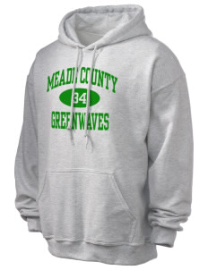 Meade County High School Greenwaves Ultra Blend 50/50 Hooded Sweatshirt