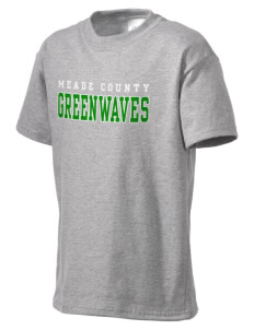 Meade County High School Greenwaves Kid's Essential T-Shirt
