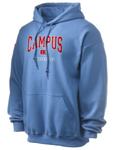 campus community school cougar Ultra Blend 50/50 Hooded Sweatshirt