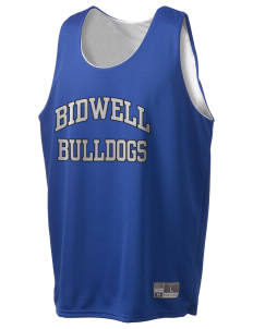 Bidwell Elementary School Bulldogs Holloway Men's Halfcourt Reversible Basketball Jersey