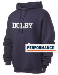 Dolby Elementary School Rams Russell Men's Dri-Power Hooded Sweatshirt