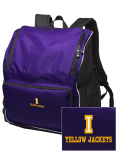 Iowa High School Yellow Jackets Embroidered Holloway Duffel Bag