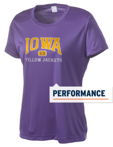 Iowa High School Yellow Jackets Women's Competitor Performance T-Shirt