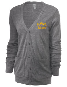 Iowa High School Yellow Jackets Unisex 5.6 oz Triblend Cardigan