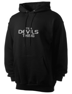 Devils Devil Men's 7.8 oz Lightweight Hooded Sweatshirt