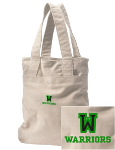 Woodlawn Middle School Warriors Embroidered Alternative The Berkeley Tote