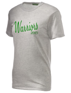 Woodlawn Middle School Warriors Embroidered Alternative Unisex Eco Heather T-Shirt