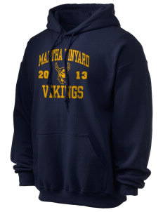 Martha Vinyard Elementary School Vikings Ultra Blend 50/50 Hooded Sweatshirt