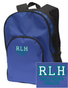 Robert L. Horbelt Dolphins Embroidered Value Backpack