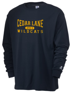 Cedar Lane Elementary School Wildcats  Russell Men's Long Sleeve T-Shirt