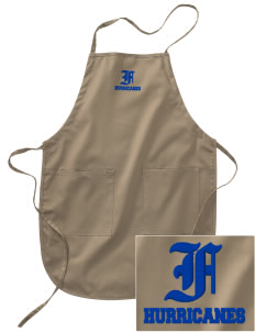 Franklin Middle School Hurricanes Embroidered Full Length Apron