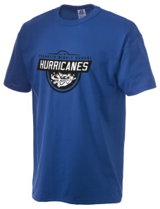 Franklin Middle School Hurricanes  Russell Men's NuBlend T-Shirt