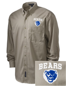 Winnisquam Regional High School Bears Embroidered Men's Twill Shirt