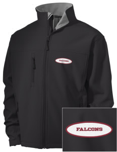 Ventnor Educational Community Complex Falcons Embroidered Men's Soft Shell Jacket