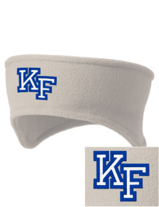 Knight Fundamental Academy Knight Hawks Embroidered Fleece Headband