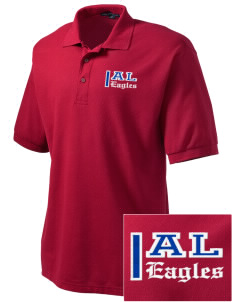 American Leadership Academy Eagles Embroidered Men's Silk Touch Polo