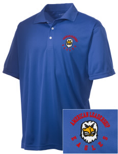 American Leadership Academy Eagles Embroidered Men's Double Mesh Polo