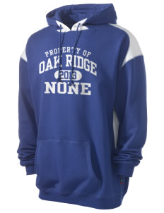Oak Ridge none Men's Pullover Hooded Sweatshirt with Contrast Color