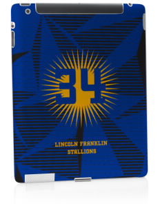 Lincoln Franklin Elementary School Stallions Apple iPad 2 Skin