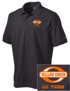 Willow Grove Elementary School Lil' Tigers Embroidered OGIO Men's Caliber Polo
