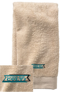 Conlee Elementary School Colts  Embroidered Zero Twist Resort Hand Towel