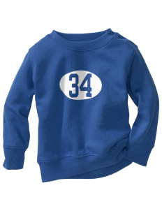 PS 86 Saint Lawrence School Tigers Toddler Crewneck Sweatshirt