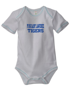 PS 86 Saint Lawrence School Tigers Baby Zig-Zag Creeper