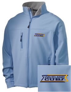 Waveland Elementary School Cubs Embroidered Men's Soft Shell Jacket