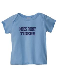Moss Point High School Tigers  Baby Lap Shoulder T-Shirt