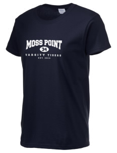 Moss Point High School Tigers Women's 6.1 oz Ultra Cotton T-Shirt