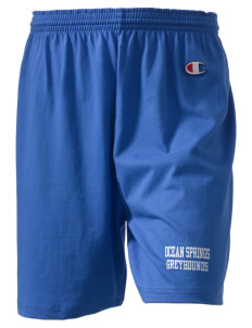 "Ocean Springs High School Greyhounds  Champion Women's Gym Shorts, 6"" Inseam"