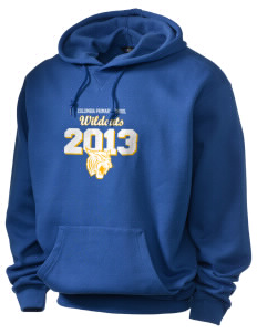 Columbia Primary School Wildcats Holloway Men's Heavyweight Hooded Sweatshirt