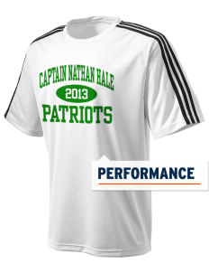 Captain Nathan Hale Middle School Patriots adidas Men's ClimaLite T-Shirt
