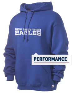 Eastgate Middle School Eagles Russell Men's Dri-Power Hooded Sweatshirt