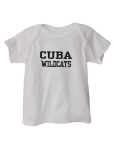 Cuba Middle School Wildcats  Baby Lap Shoulder T-Shirt