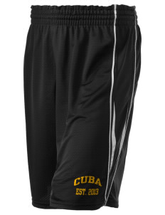 "Cuba Middle School Wildcats Holloway Women's Piketon Short, 8"" Inseam"