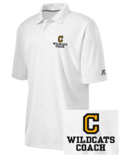 Cuba Middle School Wildcats Embroidered Russell Coaches Core Polo Shirt