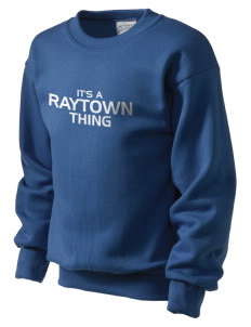 Raytown High School Blue Jays Kid's Crewneck Sweatshirt
