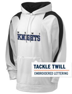 Mount Saint Mary College Knights Holloway Men's Sports Fleece Hooded Sweatshirt with Tackle Twill