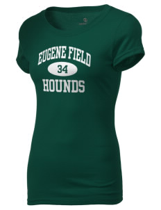 Eugene Field Elementary School Hounds Holloway Women's Groove T-Shirt