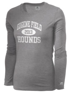 Eugene Field Elementary School Hounds  Russell Women's Long Sleeve Campus T-Shirt