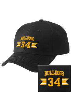 Central Elementary School Bulldogs  Embroidered New Era Adjustable Structured Cap