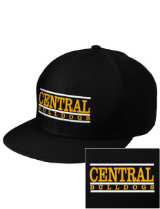 Central Elementary School Bulldogs  Embroidered New Era Flat Bill Snapback Cap