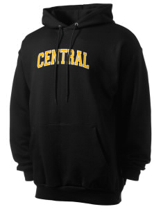 Central Elementary School Bulldogs Men's 7.8 oz Lightweight Hooded Sweatshirt